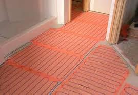 radiant heat floor mat meze