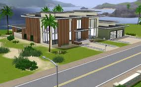 sims 3 modern beach houses house and home design