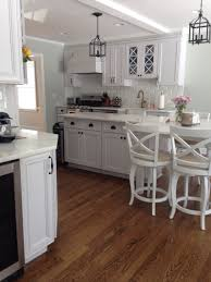 Benjamin Moore Simply White Kitchen Cabinets Small Kitchen Design Ideas This Small Family Home Kitchen
