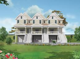 marydel multi family triplex plan 026d 0146 house plans and more