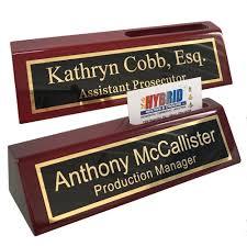Custom Desk Plaque Nameplates U0026 Desk Tapes Amazon Com Office U0026 Supplies