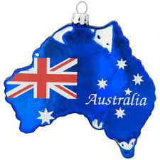 australia glass ornament bronner s
