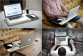 How To Make A Laptop Lap Desk by Clever Portable Desks Meant To Increase Comfort And Flexibility