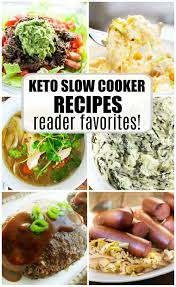 keto slow cooker recipes low carb high fat some of the best