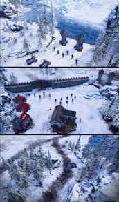 Map My Friends Early Pics From A Winter Map In My Rts Game Album On Imgur