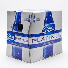 bud light platinum price bud light platinum 12oz bottle 12 pack beer wine and liquor