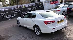 white maserati sedan maserati ghibli white 2014 for sale auto 2000 enfield youtube