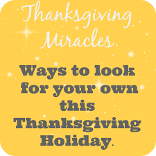 your thanksgiving miracle smitten by smitten posts