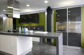 deco cuisine grise et déco cuisine gris et noir exemples d aménagements