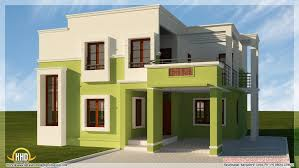 Modern Elevation 3d Home Plan And Elevation 2017 Also Modern Contemporary