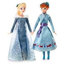 anna and elsa classic doll set olaf u0027s frozen adventure 11 1 2