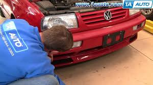 how to install replace fog lights volkswagen vw jetta 93 99 1aauto