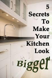 kitchen looks ideas 5 secrets to make small kitchen looks bigger veryhom