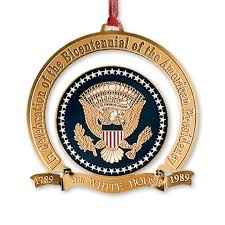 1989 white house ornament the bicentennial of the