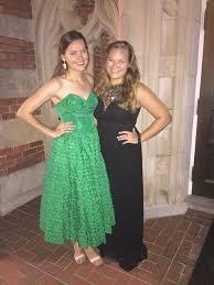 Sorority Formal Dress Vinescope 25 Teens Who Wore Their Moms U0027 Vintage Prom Dresses