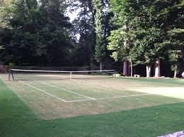 building your own grass tennis court palmetto state racket