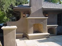 Outdoor Entertainment Center - stucco on your outdoor fireplace bbq or entertainment area yelp