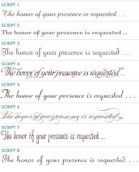 wedding invitations font katherinn s latitia poly jemeia c9605 what to wear to a
