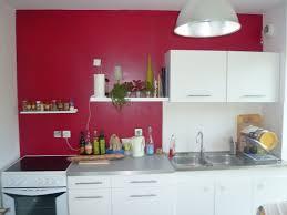 Peinture Rouge Cuisine by Indogate Com Idee Deco Pour Cuisine Rouge Et Blanc