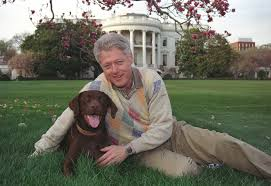 Bill Clinton House Dogs Of The White House U2013 Bill Clinton And Buddy Luhad
