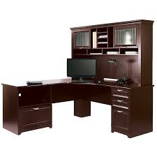 L Shaped Desks With Hutch Magellan L Shaped Desk Hutch Bundle Greenville Home Trend