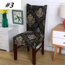 popular fabric chair covers for dining room chairs buy cheap antifouling chair cap slipcovers dining room polyester spandex fabric chair covers for hotel banquet elastic stretch