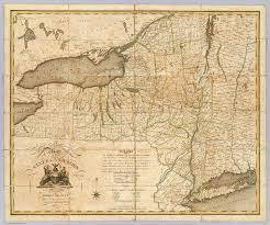 Map New York State A Map Of The State Of New York David Rumsey Historical Map
