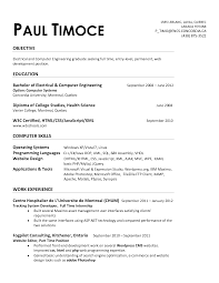 sample entry level engineering resume entry level environmental
