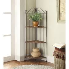 Honey Oak Bookcase Folding Corner Shelf U2013 Corner Shelf