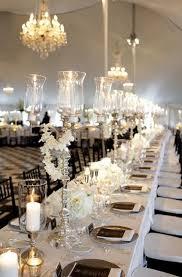 black and white table settings elegant black and white wedding table settings black pinterest