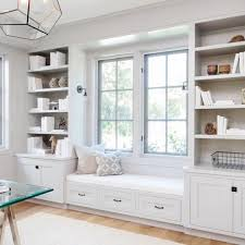 under window bookcase bench instagram office inspiration pinterest instagram window and room