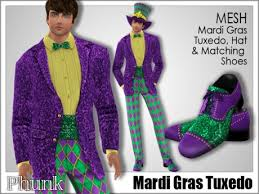mardi gras suits second marketplace phunk mesh men s mardi gras tuxedo