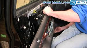 How To Replace Exterior Door by How To Replace Repair Install Front Power Door Lock Actuator