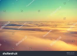Sunset Orange by Amazing View Plane On Orange Sky Stock Photo 186801986 Shutterstock