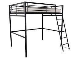 lit mezzanine noir avec bureau lit mezzanine 140x190 cm 2 coloris noir vente de lit