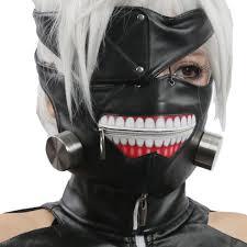 amazon com ken kaneki mask eye patch cosplay costume props