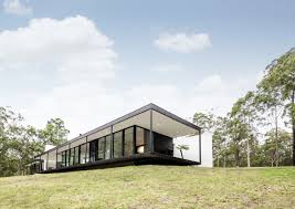 glass box architecture modern architecture glass box bush setting by collins caddaye