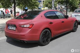 red maserati maserati ghibli s 2013 27 july 2017 autogespot