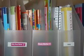 how to organize your home with labels homeshool
