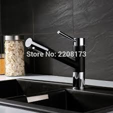 mischbatterie k che schwarz direkt qualität ziehen spray 360 grad schwenkauslauf matte granit