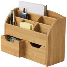 Desk Top Organizers Bamboo Desktop Organizer In Desktop Organizers
