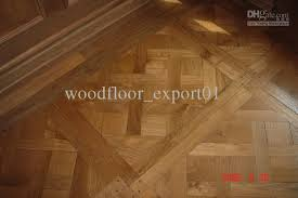 teak parquet medallion mosaics flooring oak merbau wood pear