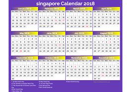 Kalender 2018 Hari Raya Puasa Singapore Calendar 2018 18 Newspictures Xyz