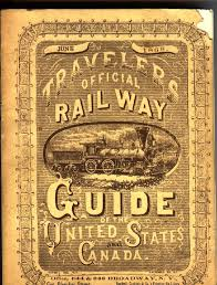 1868 official railway guide