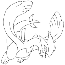 lugia legendary pokemon coloring pokemon coloring pages