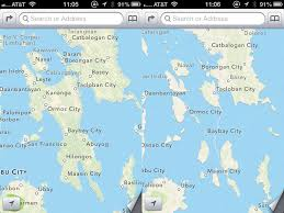 Philippine Map Entire Philippine Island Disappears In Ios6 Map Glitch Scitech