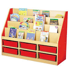 Small Red Bookcase Milan Tiered Bookcase Red 6 Small Trays Profile Education