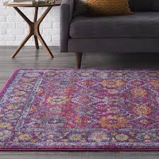 Purple Area Rugs Hillsby Area Rug Wayfair