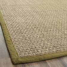 Natural Fiber Area Rugs by Safavieh Natural Fiber Collection Nf114g Basketweave Natural And