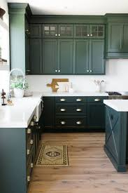 dark green kitchen cabinets parade home reveal pt 1 studio mcgee white counters and studio